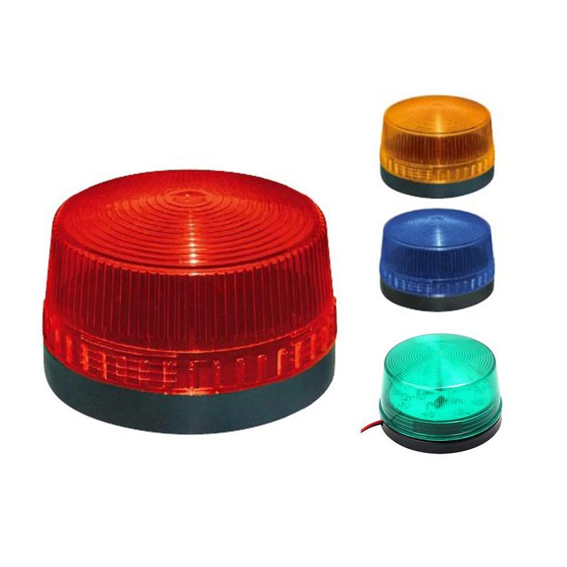 Strobe Signal Warning Light Waterproof 12v 120ma Indicator Light Led Lamp Small Flashing Light Security Alarm Flashing Light