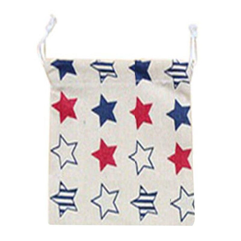 Home storage organization Underwear shoe bag toy organizer Fluid Systems pouch Item Accessories(Five-pointed star)S:14*17.5cm