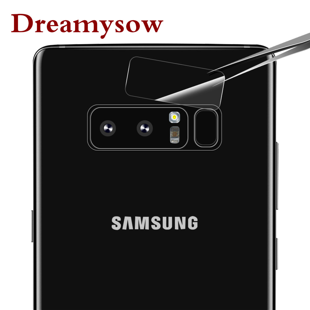 2.5D protection Screen protector Phone Camera Len Film Flash Film For Samsung Galaxy Note 8 S8 S9 Plus S7 Edge Tempered Glass