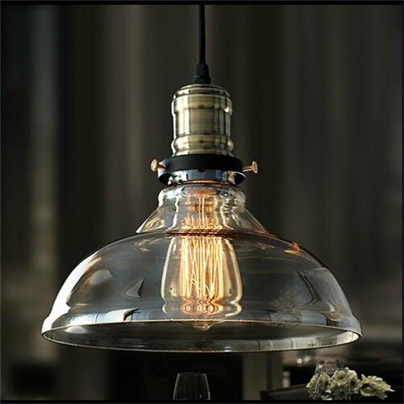 Glas Lampenschirm Neue E27 Amerikanischen Land Vintage Glas Lampenschirm .