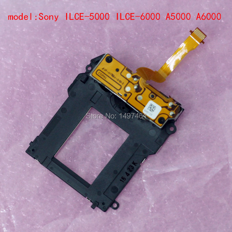 New Shutter plate group with blade curtain repair parts For Sony ILCE 6000 ILCE 6300 A6000