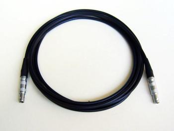 Kabel do wykrywania defektów, równości LEMO 00 do LEMO 00 Krautkramer C5-C5