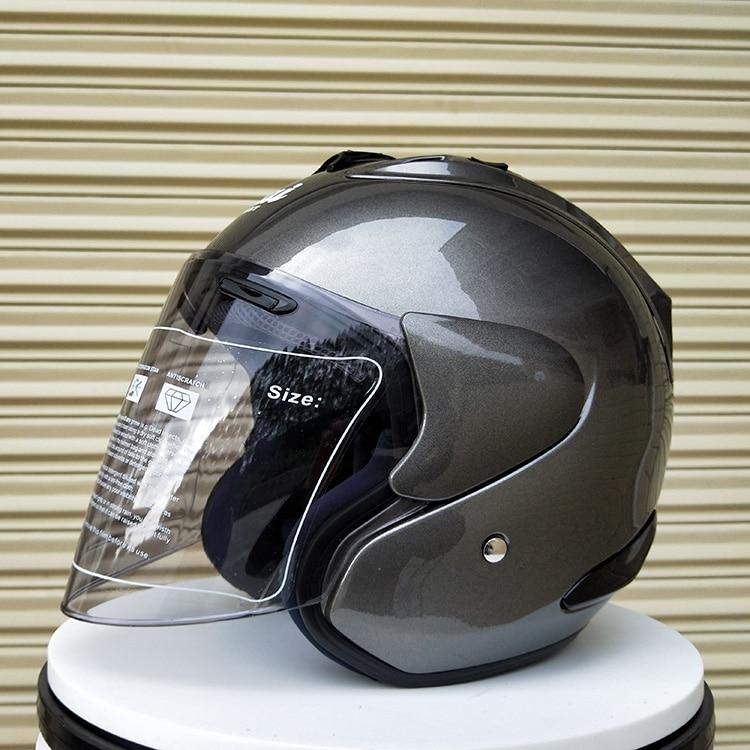 2019 ARAI R4 Top hot 3/4 casque moto casque demi casque visage ouvert casque moto taille: S M L XL XXL, Capacete
