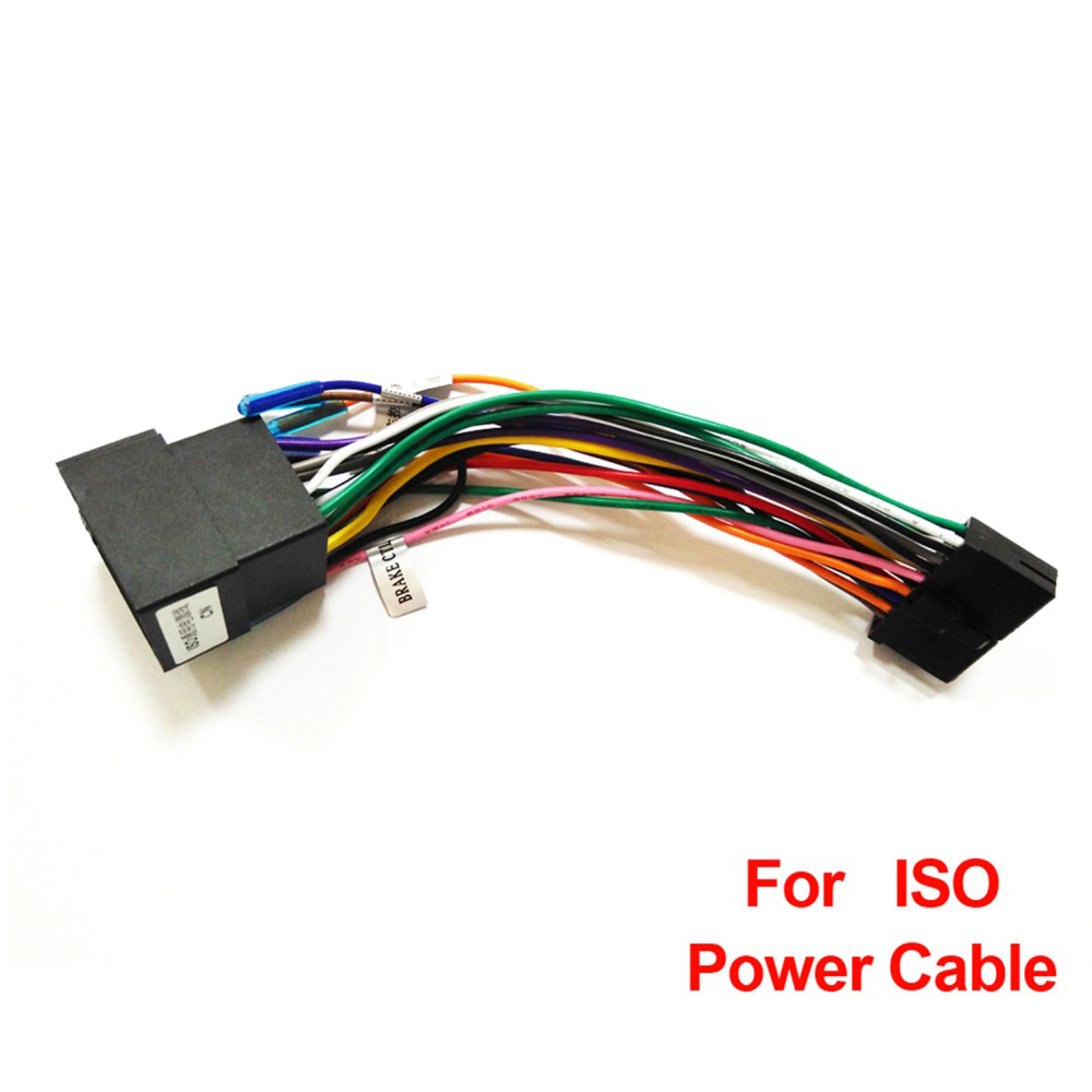 BEST SALE) Universal 2din Android Car Radio Power Cable ... on