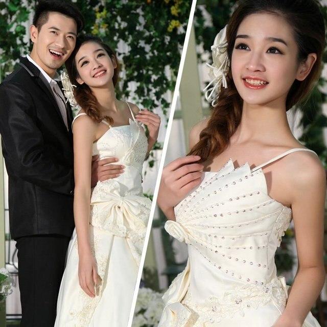 2012 spring princess bride wedding dress quality tube top wedding dress