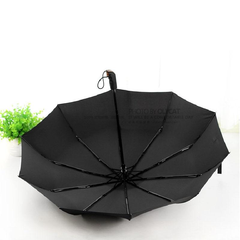 Basit Moda Kavisli Kolu Şemsiye Şemsiye ArtırmakŞemsiye Şemsiye - Ev Eşyaları - Fotoğraf 5