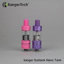 Большая скидка Kangertech Subtank Nano Tank электронная сигарета 3 мл распылитель Sub Ом Vape Танк подходит Evic VTC низкая цена