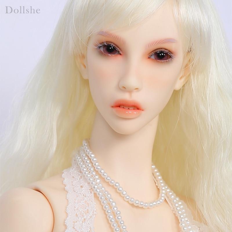 Dollshe Craft DS Erica śnieg 26F 1/3 modelu ciała dziewczyna BJD SD lalki Oueneifs wysokiej jakości żywicy zabawki dla dziewczynek urodziny Xmas w Lalki od Zabawki i hobby na  Grupa 1