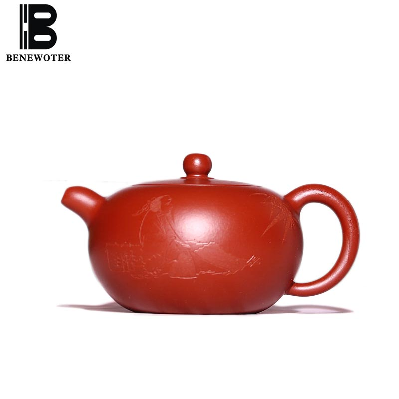 220cc Yixing Purple Clay Teapot Health Dahongpao Mud Raw Ore Bian Yu Zisha Pot Office Kung Fu Tea Set Drinkware Black Tea Kettle220cc Yixing Purple Clay Teapot Health Dahongpao Mud Raw Ore Bian Yu Zisha Pot Office Kung Fu Tea Set Drinkware Black Tea Kettle