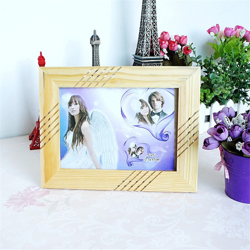 Toko Online Kayu Bingkai Foto Pernikahan Pasangan Gambar Frame Pedesaan