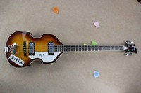 Hofner bass top quality factory Custom Hofner Icon Series Vintage Violin Sunburst Bass Guitar in stock 6 4 HU