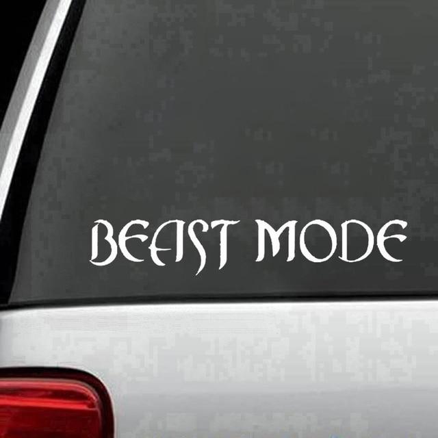 Beast Mode 4x4 Truck Racing Jdm Muscle Car Decal Window Vinyl