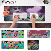MaiYaCa New Arrivals The Powerpuff Girls Silicone large/small Pad to Mouse Game Rubber PC Computer Gaming mousepad