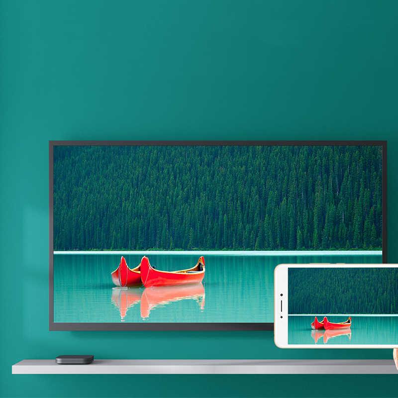Ban Đầu Toàn Cầu Tiểu Mi Mi TV Box S 4K HDR Android TV 8.1 Ultra HD 2G 8G wifi Google Cast Netflix IPTV Set Top Box 4 Phương Tiện Truyền Thông Người Chơi