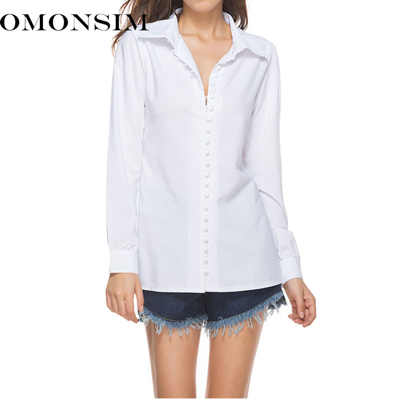 Women Elegant Pearls Beading Long Sleeve Shirt Stand Blouse Three Quarter Sleeve Summer Brand Casual Tops