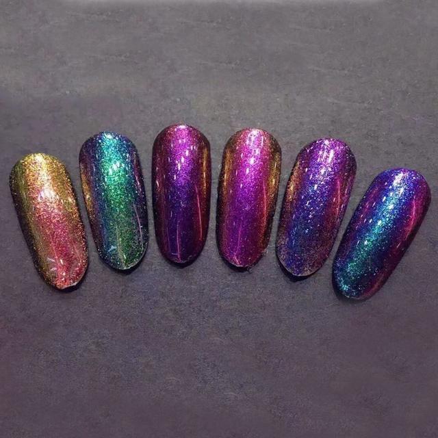 Chameleon Magic Nail Glitter Flakes Nail Decoration