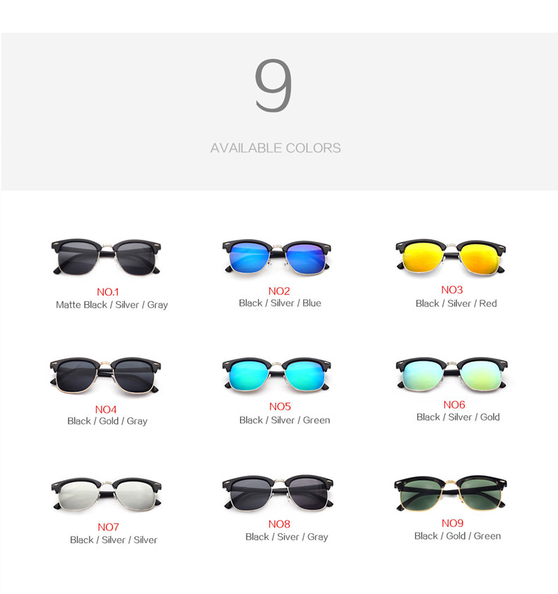 HTB1iSfkatnJ8KJjSszdq6yxuFXau - YOOSKE Classic Polarized Sunglasses Men Women Retro Brand Designer High Quality Sun Glasses Female Male Fashion Mirror Sunglass