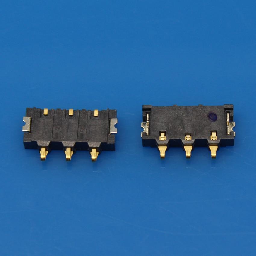 3pcs - 100pcs Inner FPC Connector Battery Holder Clip Contact replacement repair parts for Xiaomi MI1 MI1S M1 M1S