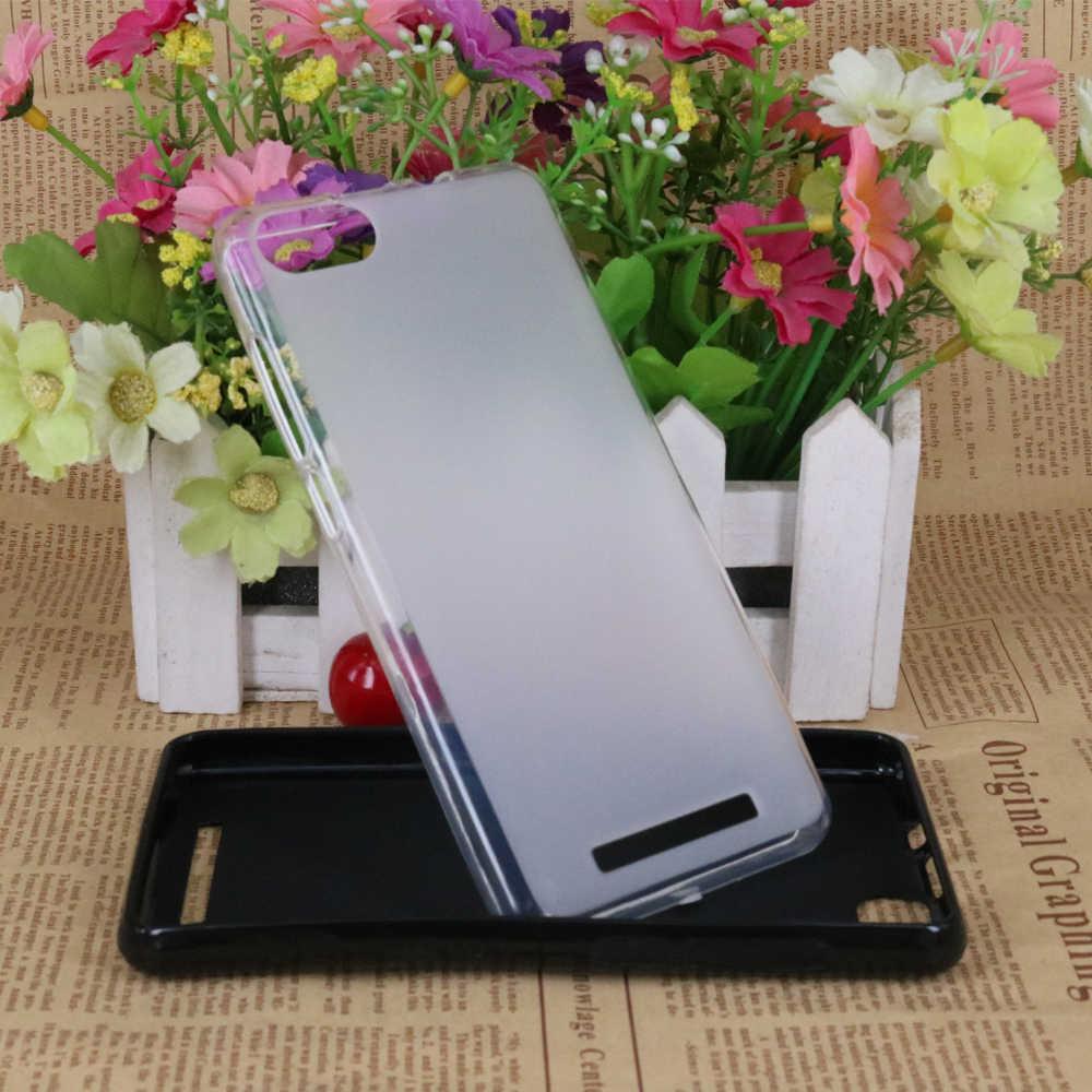 BQS-5020 Mogok Baru Silikon Lembut TPU Gel Kembali Cover Untuk BQ 5020 BQS-5020 Mogok 5.0 inch Kasus fundas Coque Anti Kulit Kasus