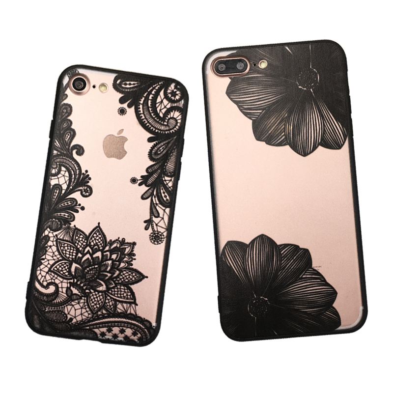 Sexy Mandala Cover Case For iPhone 7 Phone Case Fashion