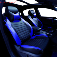 Car Wind automobiles Auto Leather set car seat covers for Skoda Octavia Fabia Rapid Mazda 3 Bmw X3 honda civic car accessories