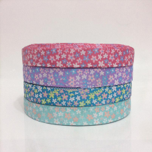 25mm 45 Meters Flower Printed Handmade Design Ribbon for Party Decoration,Romantic Gift Wrap, Apparel  Accessories
