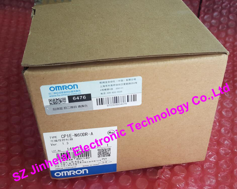 CP1E-N60DR-A New and original OMRON PLC CONTROLLER new original programmable logic controller cp1e n60dr a rc full replace cp1e n60dr a 100 240v