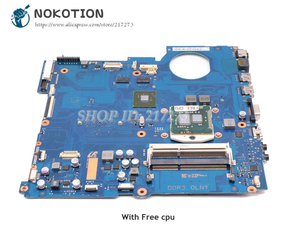 NOKOTION For Samsung RC510 Laptop Motherboard GT315M HM55 DDR3 Free cpu BA92-07482A BA92-07482B BA41-01435ANOKOTION For Samsung RC510 Laptop Motherboard GT315M HM55 DDR3 Free cpu BA92-07482A BA92-07482B BA41-01435A