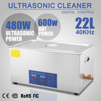 NEW PRO Large 22 Liters Ultrasonic Ultrasound Cleaner Jewelry with Heater