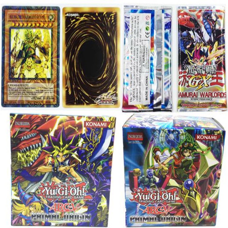 288 Pcs/box Hot Yu Gi Oh Game Paper Cards Toys Gift Brinquedo Toy Yugioh English Version Girl Boy Game Collection Cards мюрай м oh boy