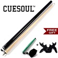 CUESOUL 48 Inch Kids Pool Cue with Free Bridge Head+Free Chalk Pen,Children Pool Cue Cue For Kids