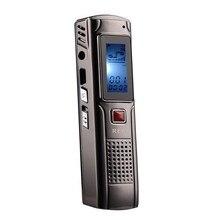 8 GB de Metal de Voz Perseguidor Profesional Grabadora de Voz Digital Grabadora de Audio Portátil de Negocios Teléfono de Grabación Reproductor MP3