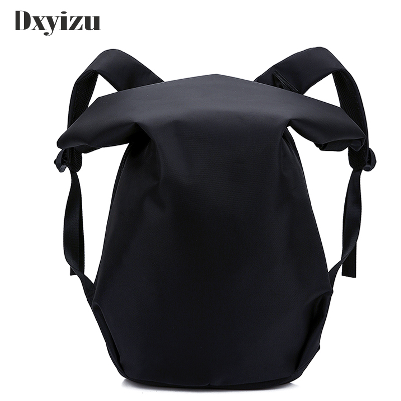Men backBack Large Capacity Bat Shaped School Backpacks For Student Teenage Boy Cool Laptop Bag Male Mochila Leisure Travel Pack