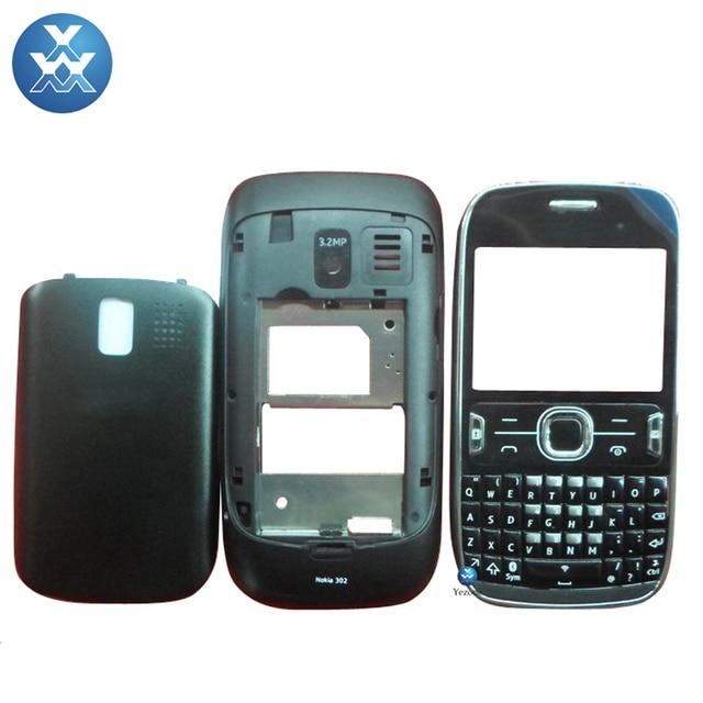 info for b3e30 65d26 US $47.14 |Brand New Full Housing Case For Nokia Asha 302 n302 Complete  Housing Full Housing Cover Battery Door Lens Middle Cover+Keypad-in Mobile  ...