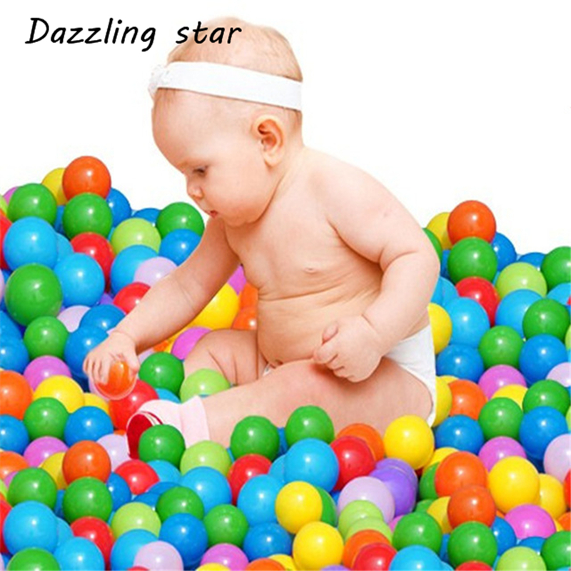10pcs Colorful Ball Soft Plastic Ocean Ball Funny Baby Kid Swim Ball Pit Toy Water Pool Ocean Wave Ball 13 AGC