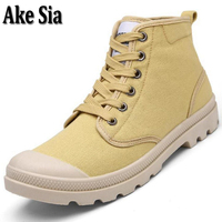 Ake Sia Fad Teens Hombre Men Spring Autumn All Match Canvas Breathable Lace Up Male Teens