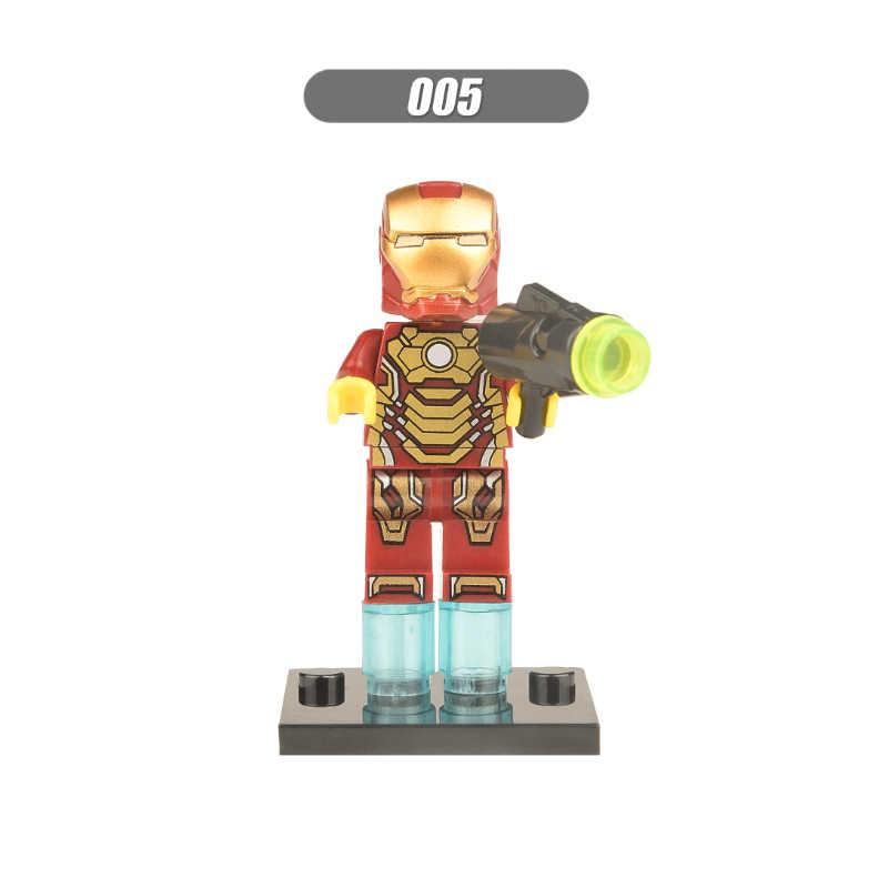 Super heróis capitão américa thor homem de ferro spiderman general zod hulk vingadores blocos de construção brinquedos figuras