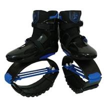 MiaoMiaoLong Jumps BKBE3941 Black&Blue Sports Boots US Men 6,6.5,7 US Women 7,7.5,8 Fitness Bounce Shoes