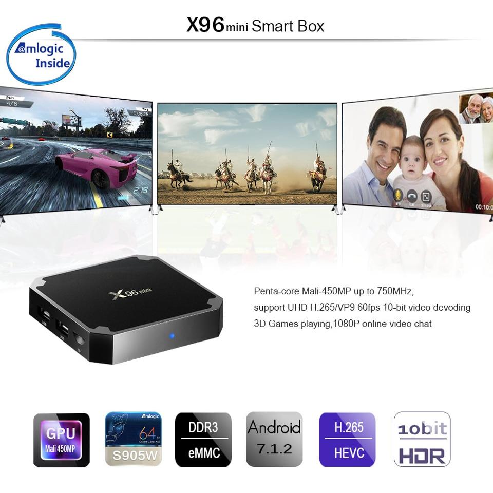 X96 Mini France IPTV Arabic QHDTV 1 Year IPTV Android 7.1 2+16G Tunisia Algeria Belgium Netherlands French IPTV Subscription Box (9)