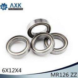 MR126ZZ подшипник ABEC-5 (10 шт.) 6*12*4 мм миниатюрный MR126Z упорные шариковые подшипники MR126 ZZ L-1260ZZ