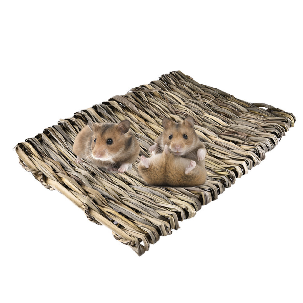 Gress hamster Nest Mat for liten Pet hamster ekorn Marsvin Chinchilla - Pet produkter