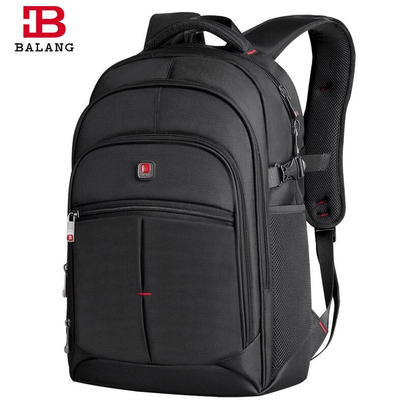 2a1bdd2d6f 2019 BALANG Men Women Laptop Backpack for 14 15.6 17Inch Notebook Computer  Rucksack School Bag Backpack
