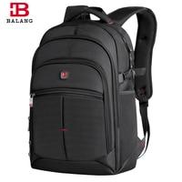 2017 BALANG Men Women Laptop Backpack For 14 15 6 17Inch Notebook Computer Rucksack School Bag