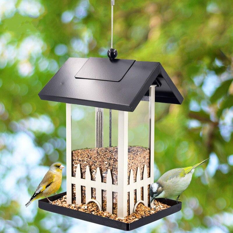 Fournitures pour oiseaux en plein air mangeoire automatique pour oiseaux jardin villa mangeoire pour oiseaux fournitures pour oiseaux ZP3281116