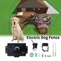 Barrière électrique de chien d'animal familier de sécurité avec le collier électronique imperméable de formation de chien système de confinement électrique Rechargeable de barrière de chien