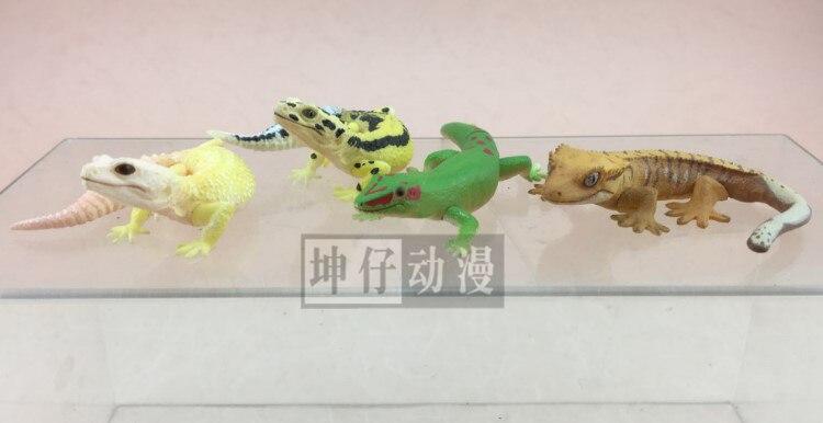 pvc figure Doll model toyLizard Gecko Shougou Kissing Erotic Reptile Model 4pcs/set nikolai bashilov kissing iskina