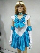 Бесплатная доставка sexy sailor moon костюм танца костюм для женщин, косплей хэллоуин свет буле костюм
