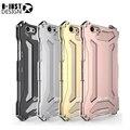 Nueva r-sólo para iphone 5s metal de aluminio delgado caso de la cubierta a prueba de golpes para iphone5 5S armadura exterior anti-golpe cajas del teléfono