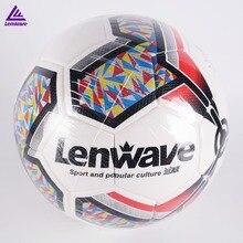 3f01bb31f5 Lenwave 5 Futebol Bola de Futebol tamanho Oficial 2018 Premier PU Bola De  Futebol Gol League Jogo Bolas de Treinamento Ao Ar Liv.