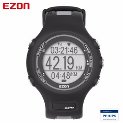2017 EZON T907-HR Bluetooth Smart Watches Optical Sensor Heart Rate Monitor GPS Running Digital Watch for IOS Android